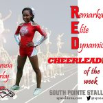 Abrasia Erby Red Cheerleader of the Week