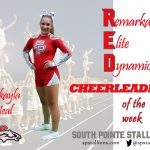 Mikayla Neal Red Cheerleader of the Week