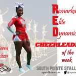 Kierra Belton RED Cheerleader of the Week