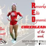 Lillian Bennett RED Cheerleader of the Week