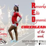 Toree McCrorey RED Cheerleader of the Week