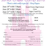 Junior Cheer Camp!!! Register Online!