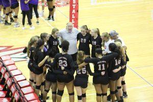 Volleyball Scrimmage v. Northwestern