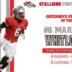 #6 Marice Whitlock Offensive Player of the Week