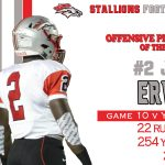 #2 Joe Ervin Player of the Week