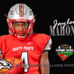 Jaylen Mahoney 2018 Shrine Bowl