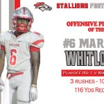 #6 Marice Whitlock Player of the Week