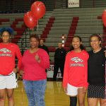 Girls Basketball Celebrate Their Seniors
