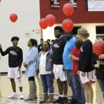 Senior Boys Basketball  Honored at Senior Night