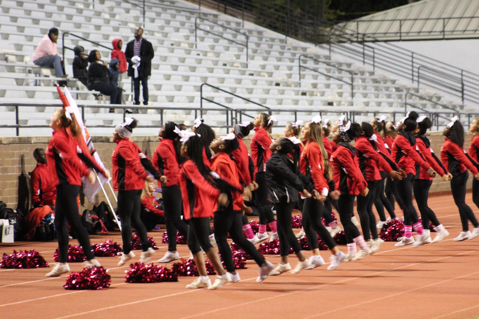 Cheer Senior Night 2019