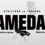 GAMEDAY  Stallions v. Trojans  Today Wed 1/8