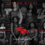 Senior Night Basketball and Cheer