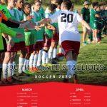 SPHS 2020 Boys Soccer Schedule