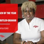 Congratulations Coach Butler-Graham Region Coach of the Year
