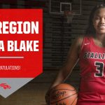 Congratulations Jamia Blake All Region