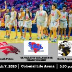 Girls Basketball State Championship Game 3/7 @ 5:30pm Colonial Life Arena