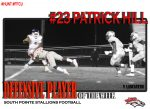 #23 Patrick Hill Defensive Player of the Week