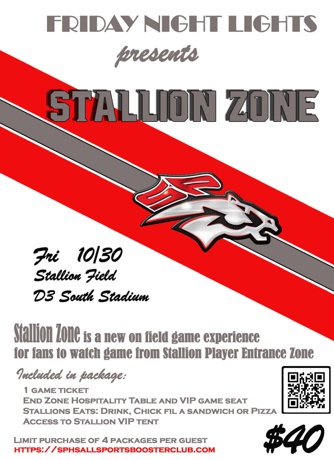 Stallion Zone Packages now Available for Dutch Fork game