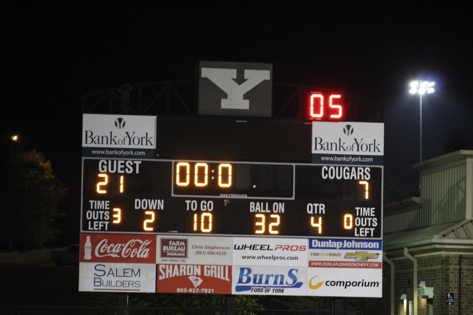 Varsity Football 10/23