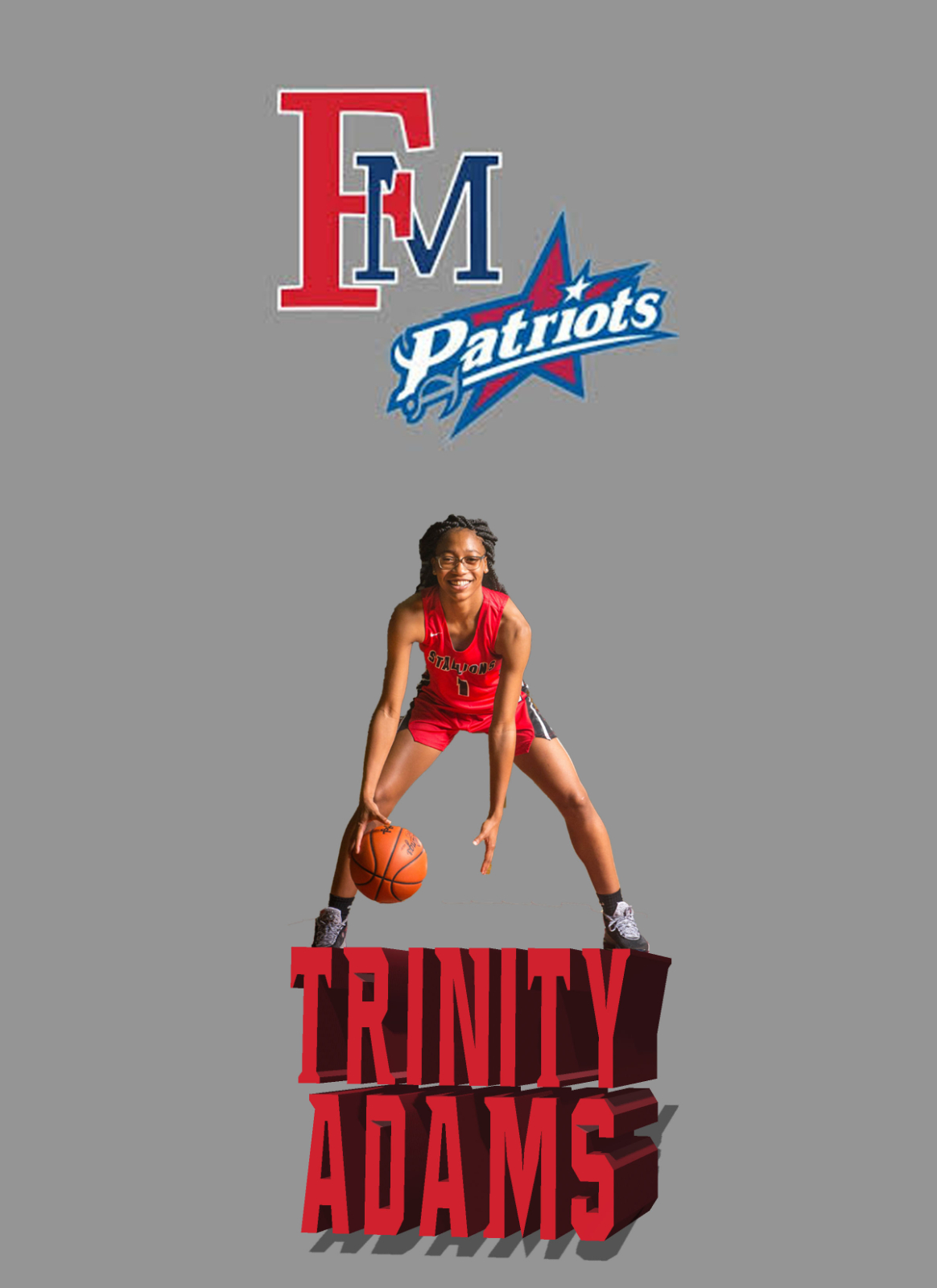Trinity Adams signs with Francis Marion today