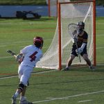 Varsity Lacrosse Squeaks Out Win Against Saline