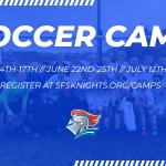 Soccer Camp: June 14-17, 22-25 & July 12-15