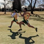 Boys Cross Country at Lakeview Golf Club