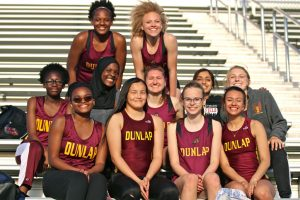 2017 Dunlap Girls Track (Metamora)