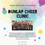 Dunlap Fall Cheer Clinic