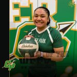 Esther-Ann Soliai Volleyball Player of the week Feb. 25