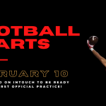 Football season officially starts February 10, 2021!