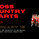 Cross Country season officially starts February 15!
