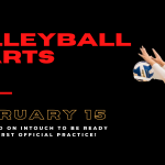 Volleyball Season Officially Starts February 15!