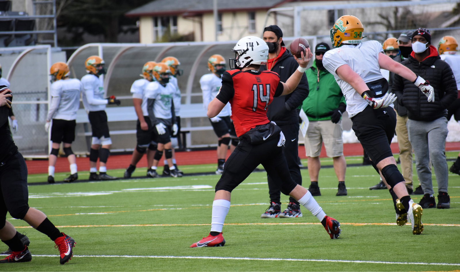 Football Jamboree vs. Tumwater