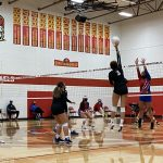 Volleyball defeats White River in four sets