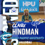 Claire Hindman, Signing with Hawaii Pacific University Congrats Claire.