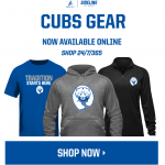 CUBS STORE is open, Get your Gear Here.