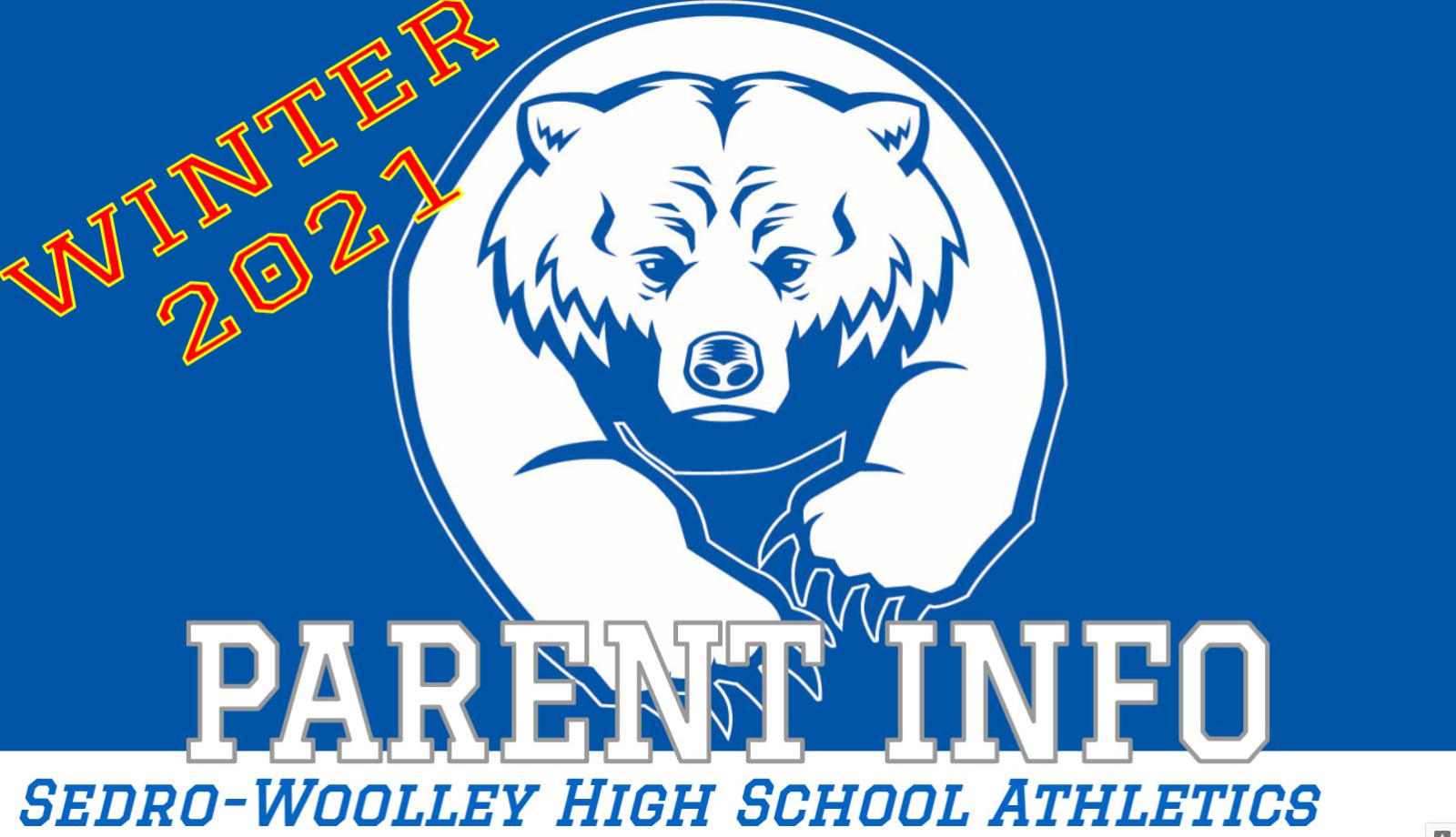 WINTER PARENT MEETING POSTED