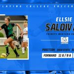 Ellsie Saldivar playing College Soccer