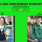 2020-21 Northwest Conference LHS Senior Sportsmanship Representatives