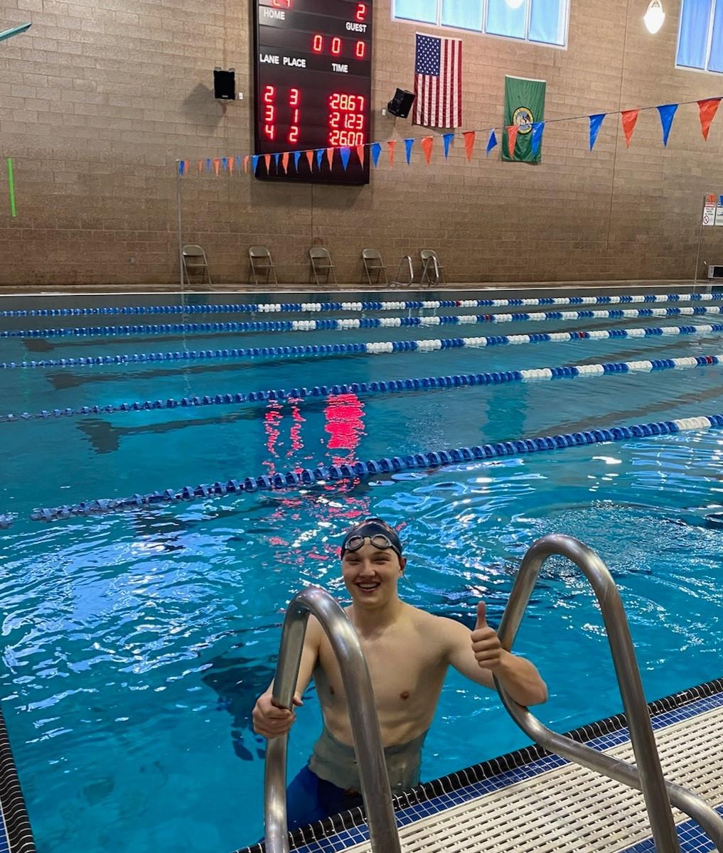 Magnus Neil Breaks 36 Year Old Swim Record