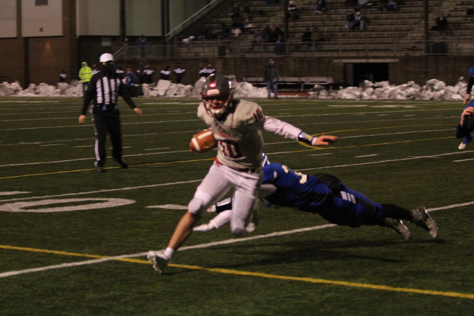 Hoquiam v. Elma Varsity Football 2/15/21 (13-27 Loss) – Photos by Ben Winkelman