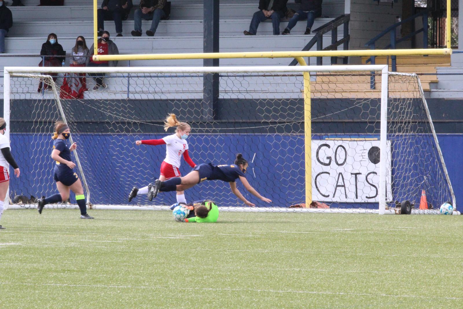 Hoquiam v. Aberdeen Varsity Girls Soccer 2/20/21 (0-3 Loss) – Photos by Ben Winkelman