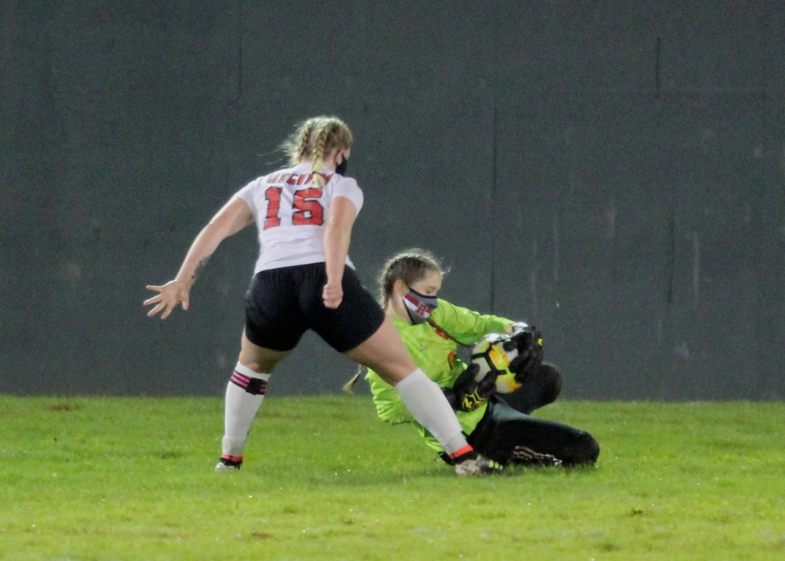Hoquiam v. Tenino Varsity Girls Soccer 2/23/21 (1-6 Loss) – Photos by Ben Winkelman