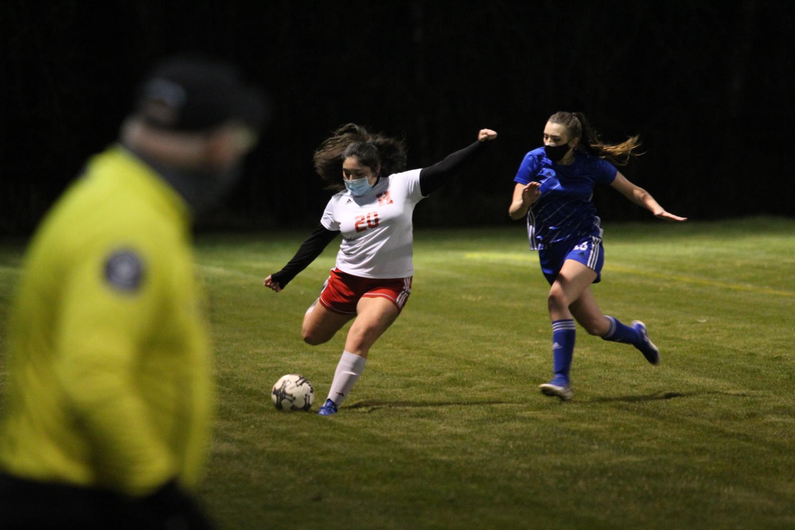 Hoquiam v. Elma Varsity Girls Soccer 3/2/21 (0-2 Loss) – Photos by Ben Winkelman