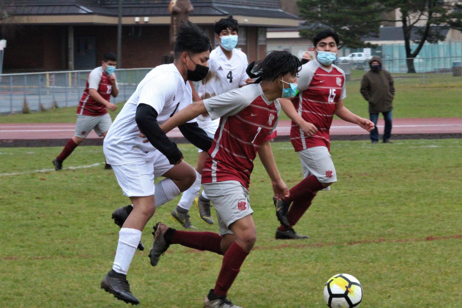 Hoquiam v. Raymond Varsity Boys Soccer 3/24/21 8-0 Win – Photos By Ben Winkelman (Team Pics by Coaches)