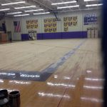 HS Gym floor gets new life after 26 years