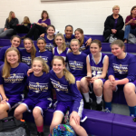 8th Grade Girls Lose to Aurora, 30 to 22