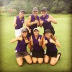 Varsity Girls Golf Team Finishes 1st