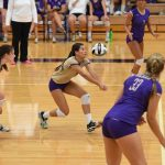 Volleyball Team Energized By Libero Lindsey Tout